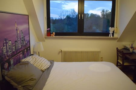 Private Room with S-Bahn connection to city center - 法兰克福 - 公寓