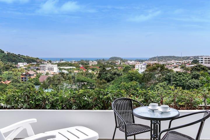 Kata Ocean View Apartement,看得到海景的房子