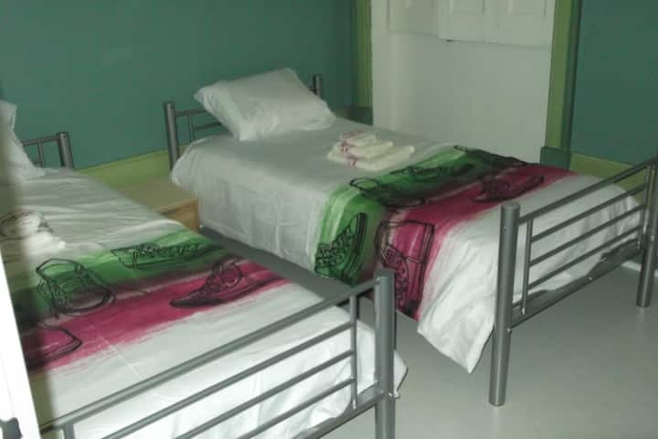 Quarto 1 do AL Hostel D.ª Jucunda