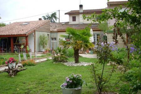 Maison avec piscine - La Brède - บ้าน