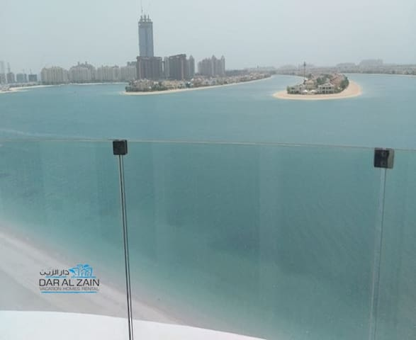 PALM JUMEIRAH|FULL SEA VIEW|1 BR  BIG LIVING ROOM
