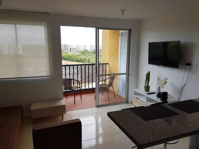 Apartamento con excelente ubicación en Jamundi