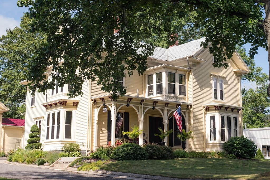 Experience the stately beauty of our lovingly restored Grand Victorian home.