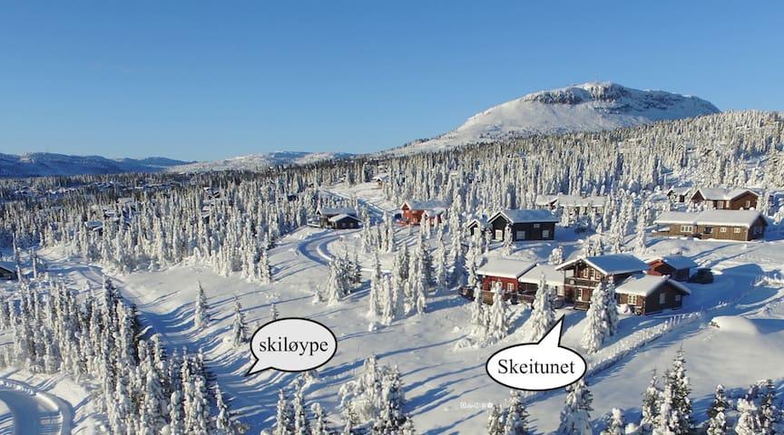 BJØRNHULA, located at ski destination Skeikampen