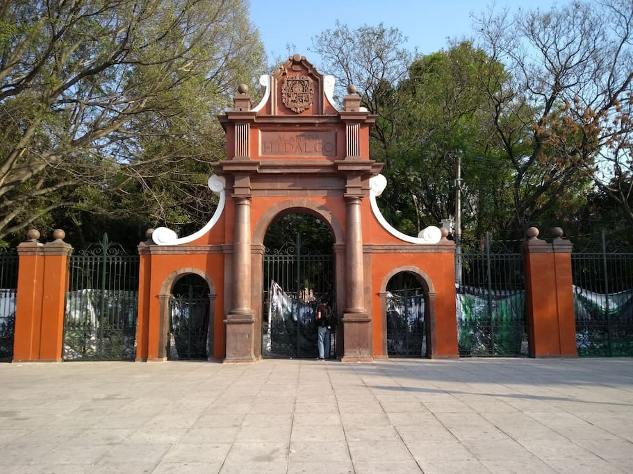 Parque Alameda a 5min caminando