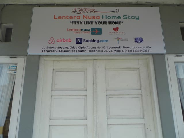 "Lentera Nusa Homestay ""stay like your home"" - Banjarbaru - Hus"