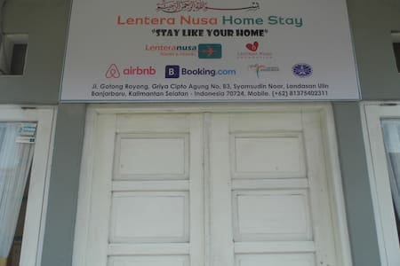 "Lentera Nusa Homestay ""stay like your home"" - Banjarbaru - Haus"