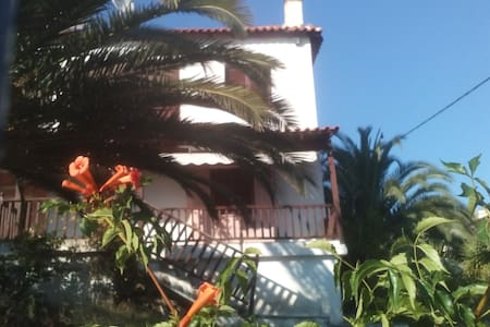 Traditional Villa with relaxing sea view - Metamorfosi - Huvila