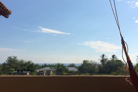APARTMENT + MOTOWITH SEA VIEW - Puerto Escondido - Appartement