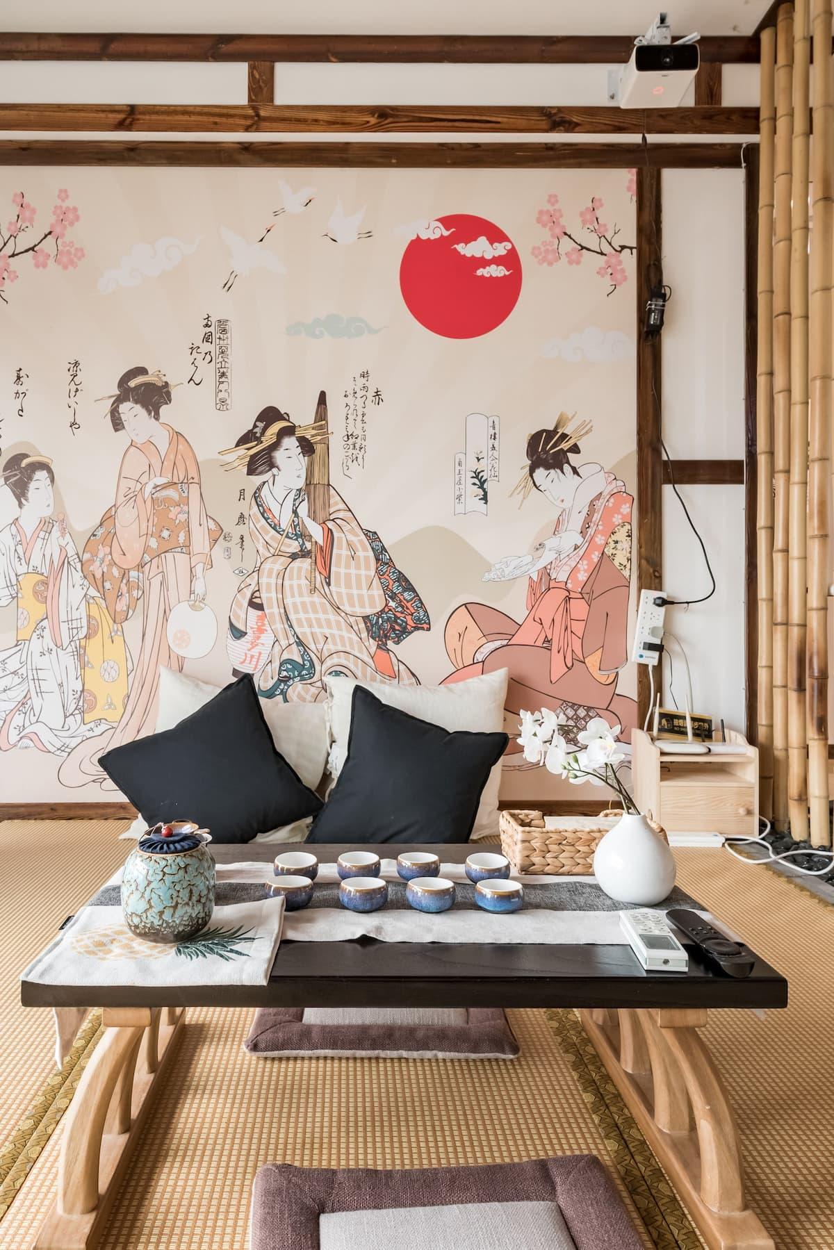 入住江景日式复古房,纵情享受山城白天的热辣和夜晚的绚丽