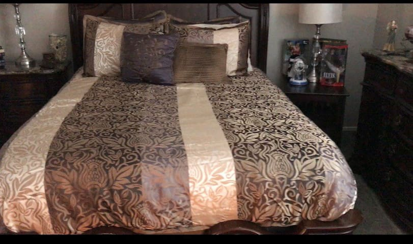Comfy, cozy room