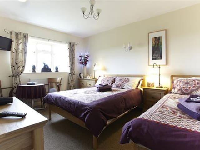 double, triple or twin room at Wayside B&B