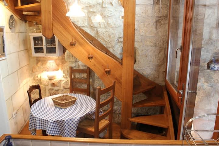 Le Bigotto. Jolie petite maison atypique