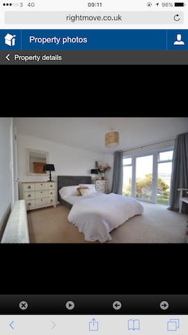 Steeple View Master bedroom - Carbis Bay - Rumah