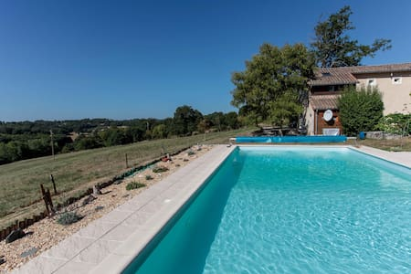 Cottage & lovely countryside views - Saint-Romain-et-Saint-Clément, Thiviers - 獨棟