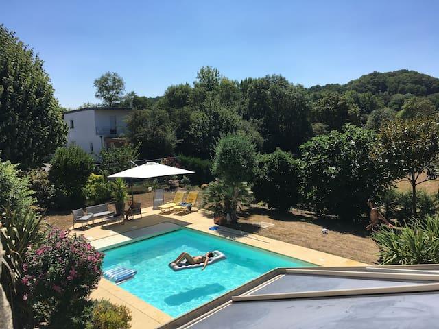 Villa d'exception avec une piscine chauffée