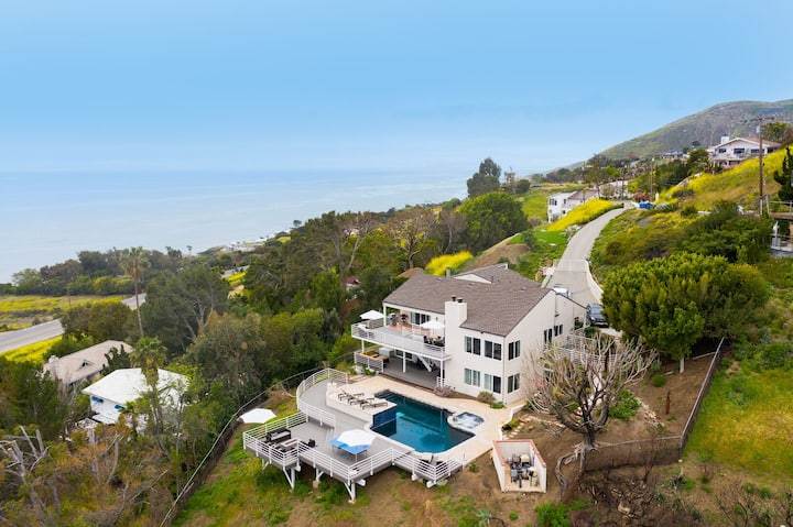 *Holiday Discount* Sea Star by AvantStay | Malibu Estate | Pool, Spa & Views