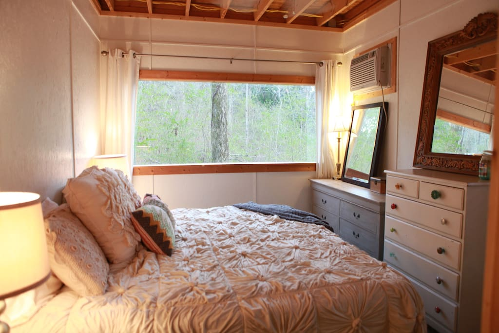 Master Suite with Forest View