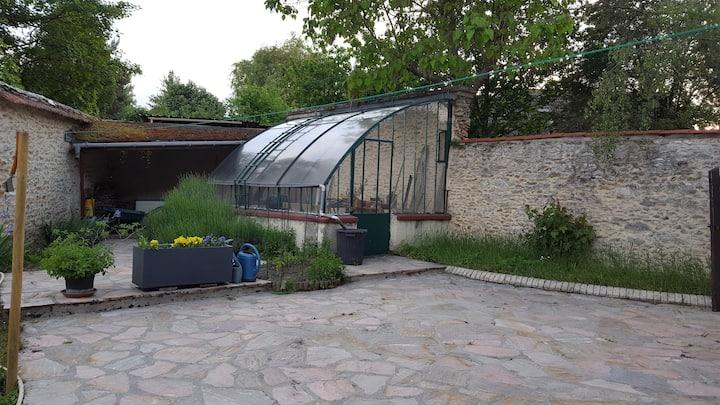 Maison 80m² très calme avec jardin