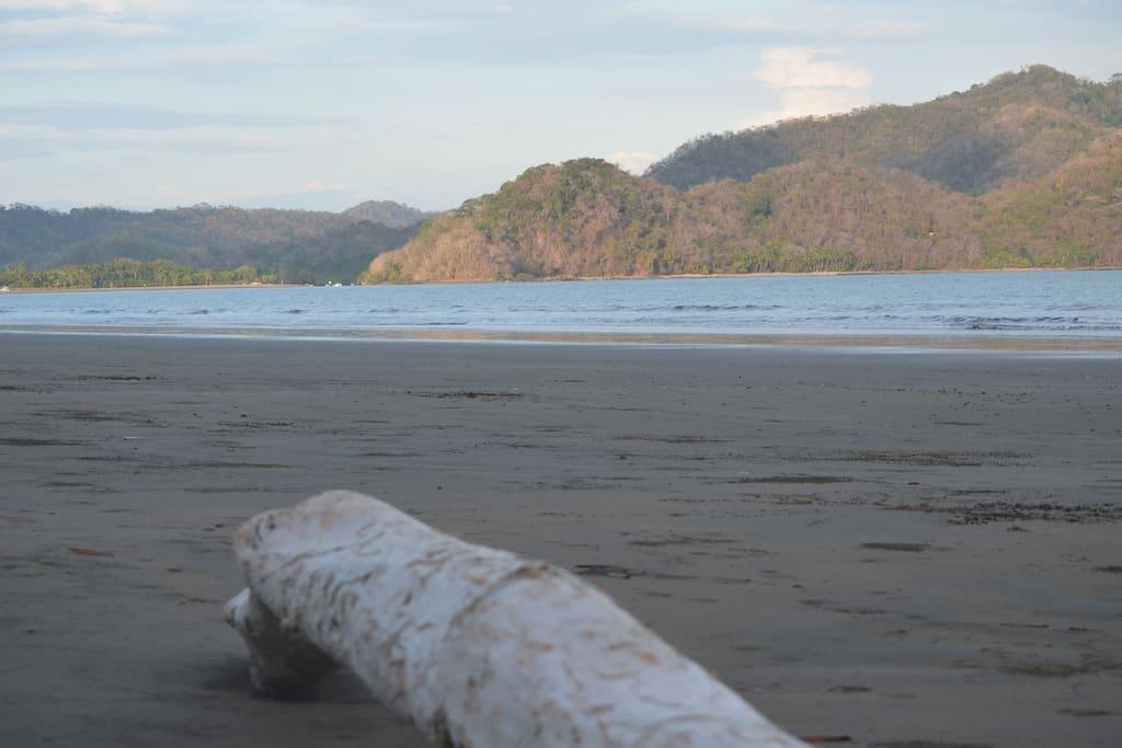 Steps to Best Swimming Beach in Nicoya Peninsula!