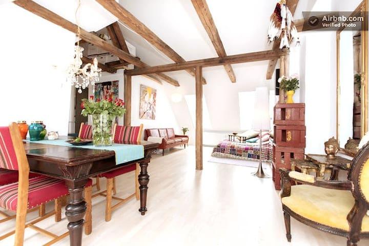 Outstanding loft apartment