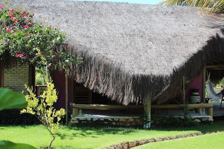 Chalé exótico no Icaraizinho - Icarai de Amontada - Casa