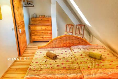 Zimmer 21: gemütliches Doppelzimmer im Seminarhaus