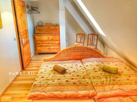 Izba 21: útulná dvojlôžková izba v seminárnom dome