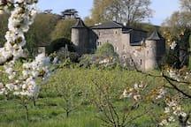 Vue du château de l'exterieur