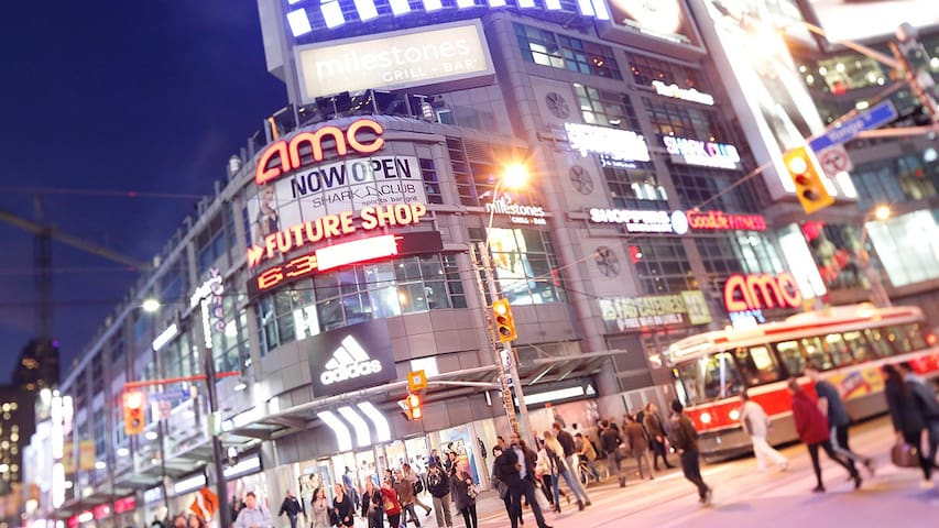 Downtown DUNDAS Square PARKING!!!