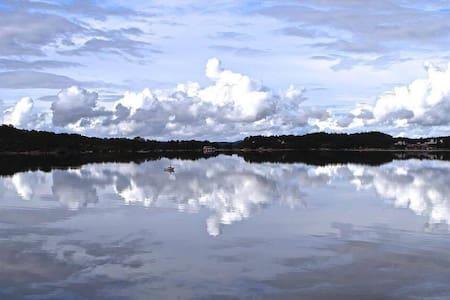 Hytteparadiset - Hosteland - Ξυλόσπιτο