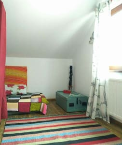 Cosy yoga attic room - Alba Iulia