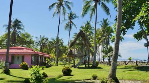 Playa Nido Rosa -Beachfront +Pool +Private Palapa