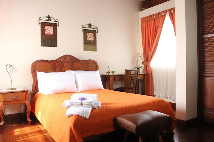 Charming B&B Queen Suite in Historical Cartago