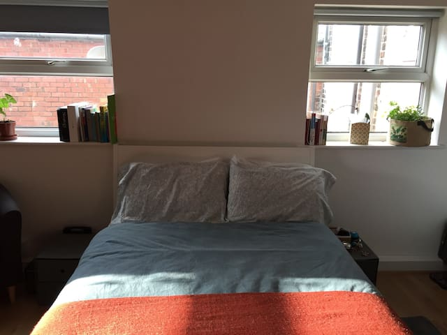 Comfy ensuite in Greater Manchester - Salford - Apartamento