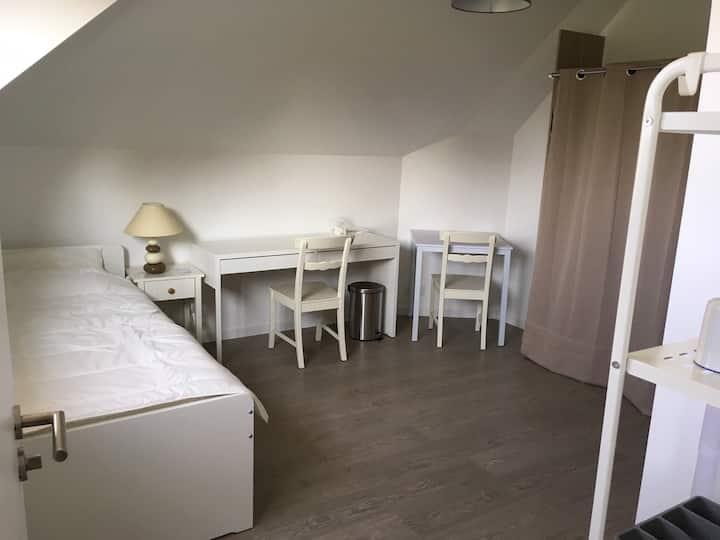 Studio totalement indépendant aux portes de Rennes