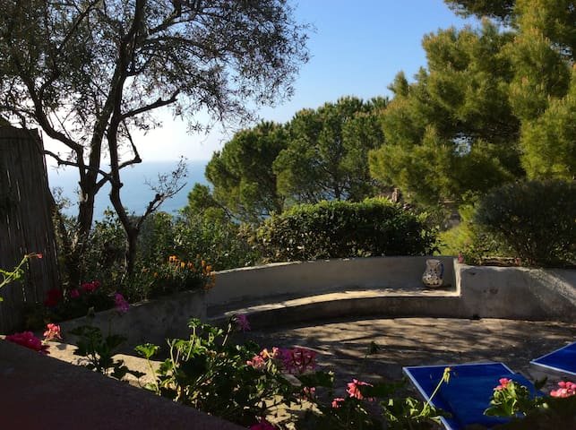 Sunset view holiday home Cala Moresca Argentario - Monte Argentario - บ้าน