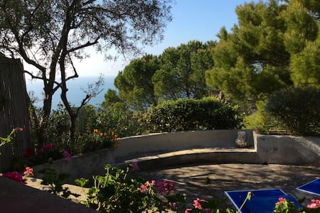 Sunset view holiday home Cala Moresca Argentario - Monte Argentario