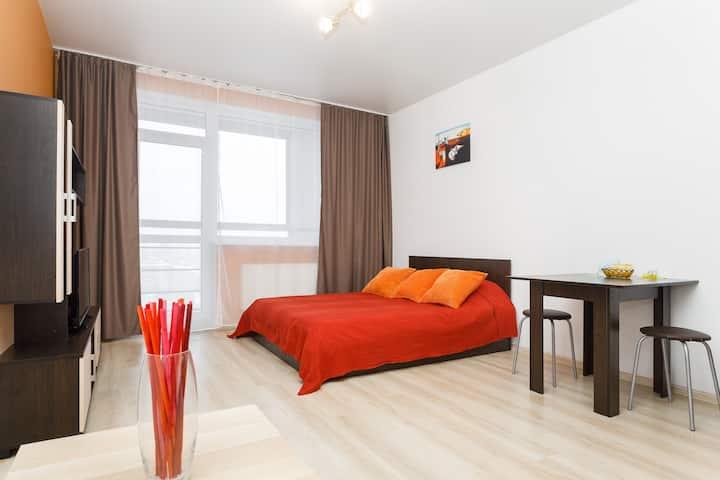 Трёхместные апартаменты - Студенческая 80 (209)