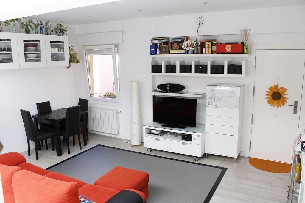 Salón, cómoda estancia