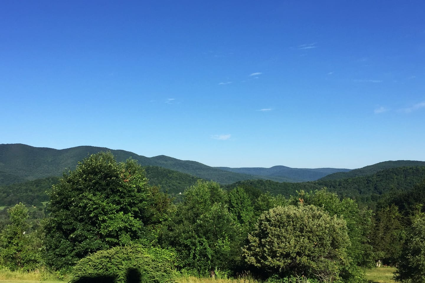Beautiful Tri-State Views from your private covered deck.