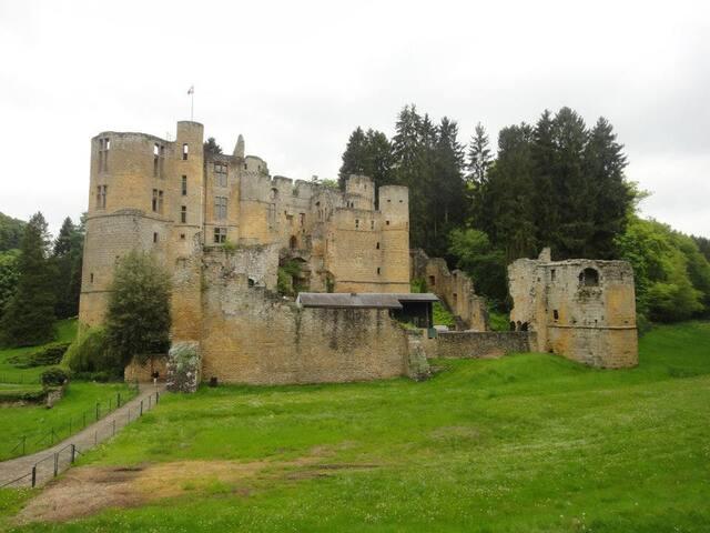 A l'ombre du Château de Beaufort ...