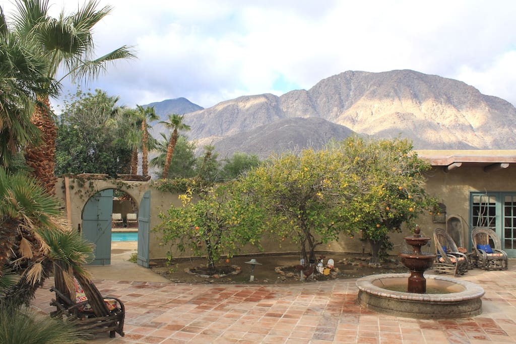 Completely enveloped by Anza-Borrego State Park land is a peaceful desert escape!