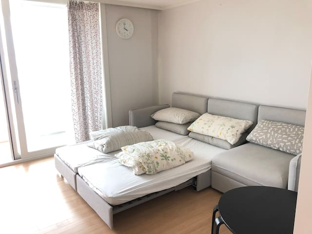 Two-bedroom apartment in the central Daejeon
