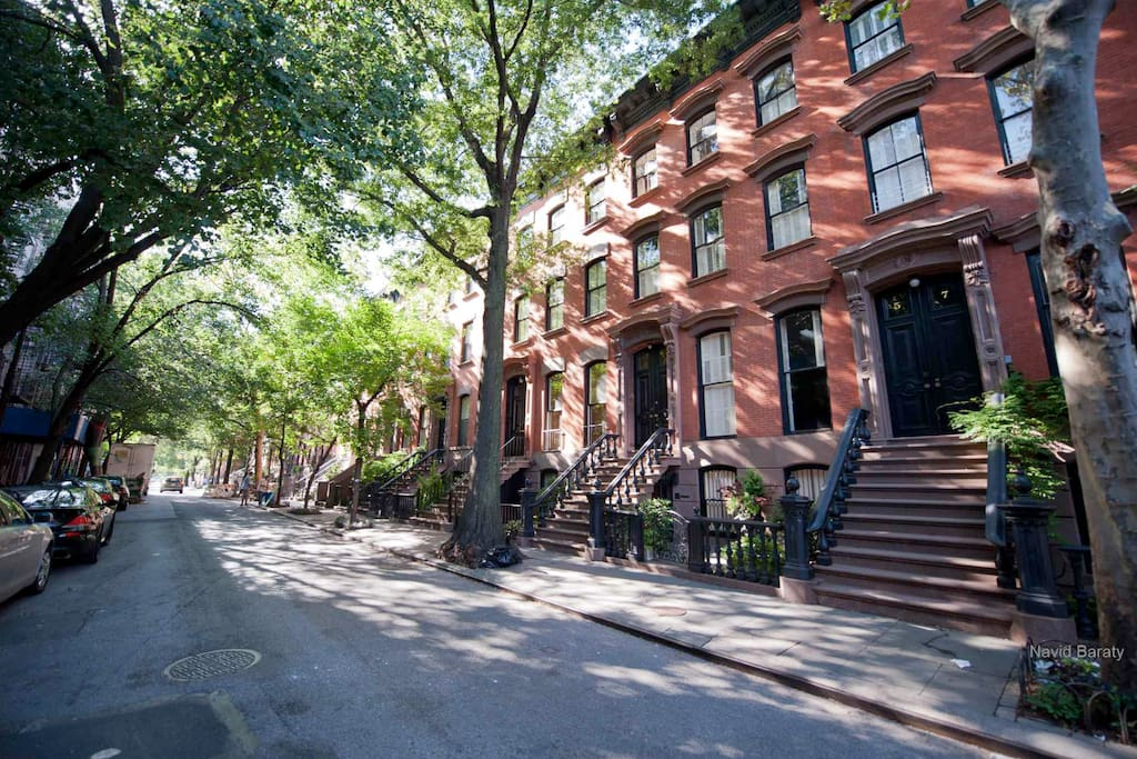 Surrounding Brownstone community