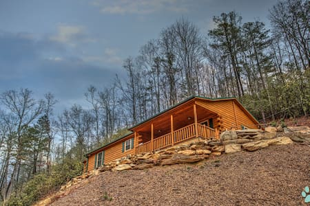 Eagle's Nest-Simple Cabin Luxury, Spectacular stay on the River-Close to Brevard - Pisgah Forest