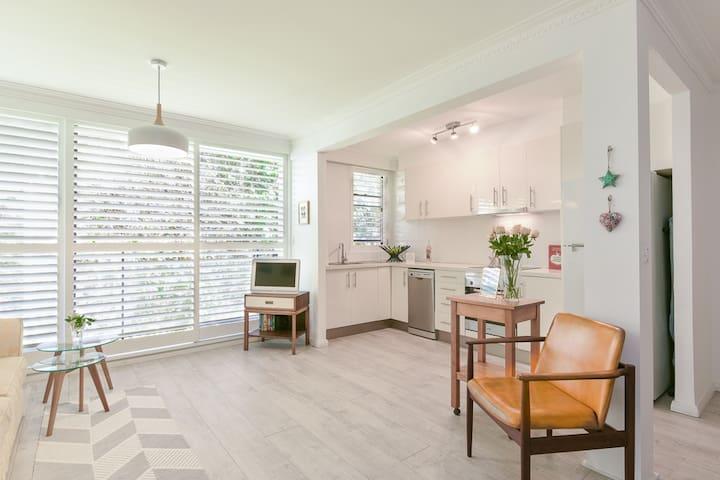 Peaceful Eastern suburb apartment