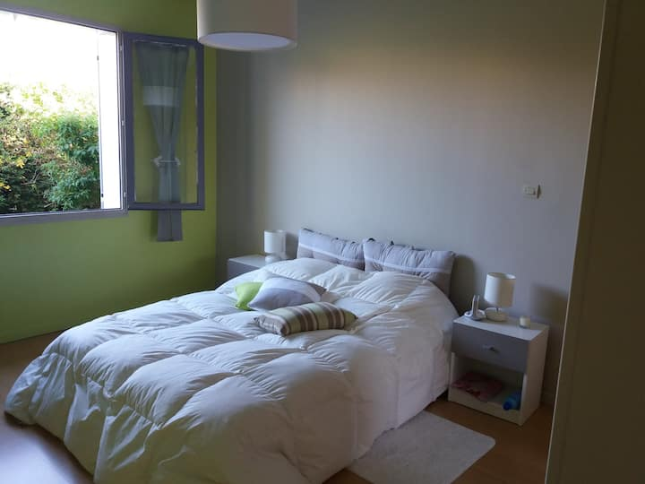 proche de Toulouse, chambres zen et agréables