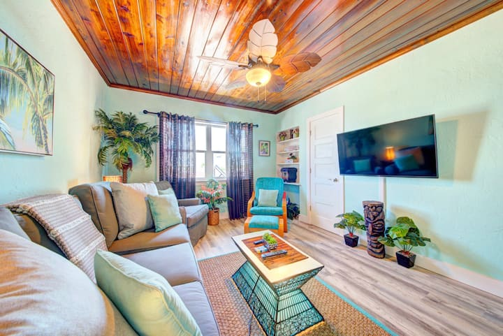 The Palm Hut apartment in downtown Cocoa Beach