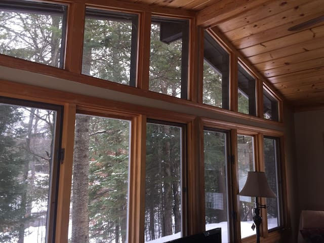 BLACK BEAR LODGE-cozy cottage with cable TV! Open all year!